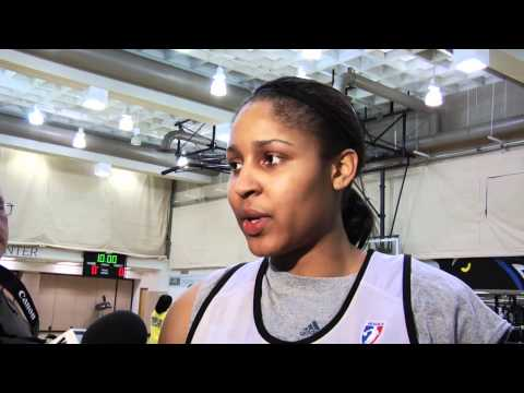 Maya Moore - Minnesota Lynx Training Camp 2011