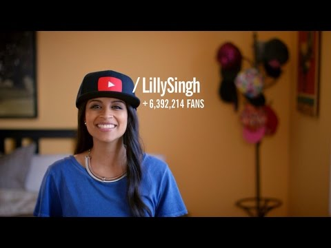 Lilly Singh on YouTube: You Give Life Character