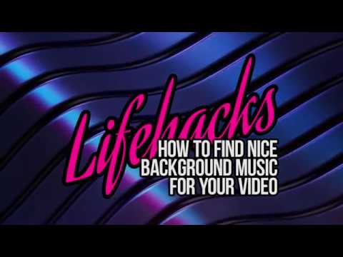 How To Find Nice Background Music For Your Videos Youtube