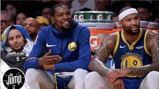 Rachel Nichols, Tracy McGrady and Amin Elhassan debate whether the Golden State Warriors can continue their winning streak into the All-Star break, and ...