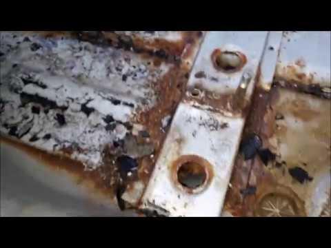 Кузовной ремонт ваз 2110 2111 2112(переварка днища)