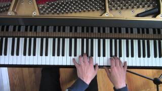 Jazz Piano Lesson #41: 7th Chord Workout - Major - (Jazz Hanon)