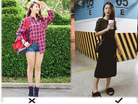 Chân to, ngắn hay vòng kiềng mà cứ mặc những kiểu váy thì bị chê cũng chẳng oan