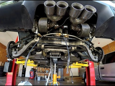 Corvette Torque Tube Removal In Detail