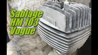 Sablage haut moteur mobylette Peugeot 103 Vogue & news