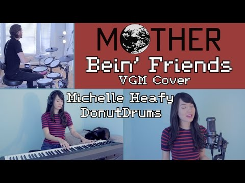 Bein' Friends (Mother) w/ lyrics | Vocal, Piano, Drum Cover | Michelle Heafy ft. DonutDrums
