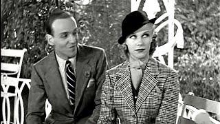 """Fred Astaire & Ginger Rogers - фильм """"Цилиндр"""" - """"Когда гремит гром"""""""