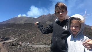 СИЦИЛИЯ. Вулкан ЭТНА. Высота 3000 метров. Тяжело ДЫШАТЬ?