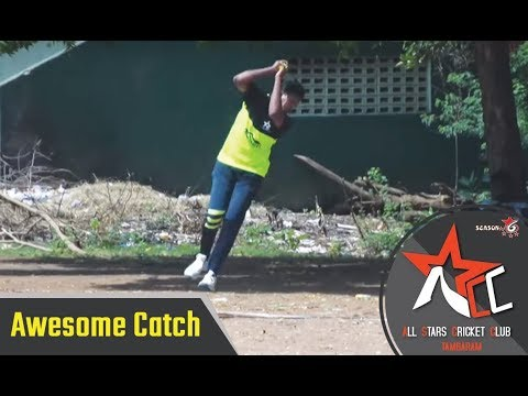 Awesome catch in Tennis Cricket | All Star Cricket Tournament 2019, Tambaram, Chennai