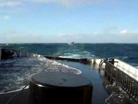 Tugboat bad weather Biscay