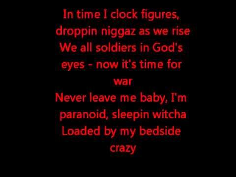 2pac Me And My Girlfriend Lyrics Youtube