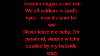 2pac-Me and my girlfriend lyrics