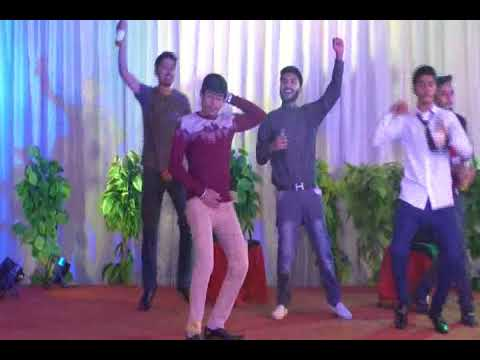 Dost Dushman / دوست دشمن.- Stage Play at Welcome Party-Punjab College Chiniot - 21 Dec 2017