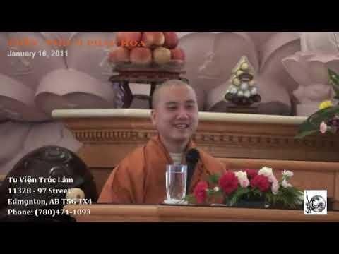 Thầy Thích Pháp Hòa - Lục Thông (January 16, 2011)