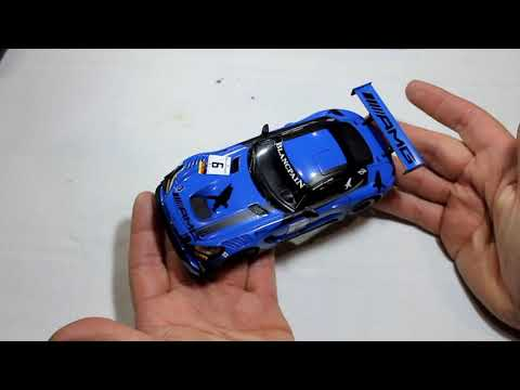 59-Mercedes AMG GT3 Black Falcon Scalextric, SCX