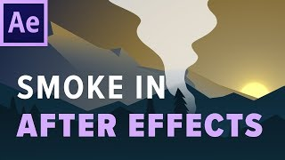Easy SMOKE ANIMATION in After Effects!
