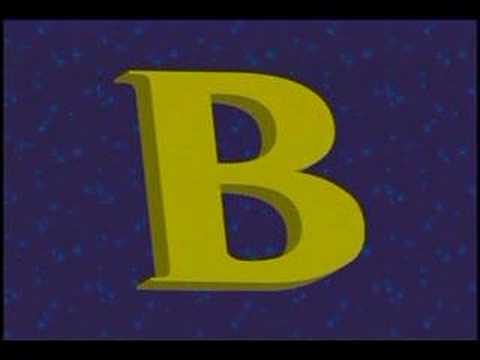 ABC song -  The Alphabet song -  song about Letter B