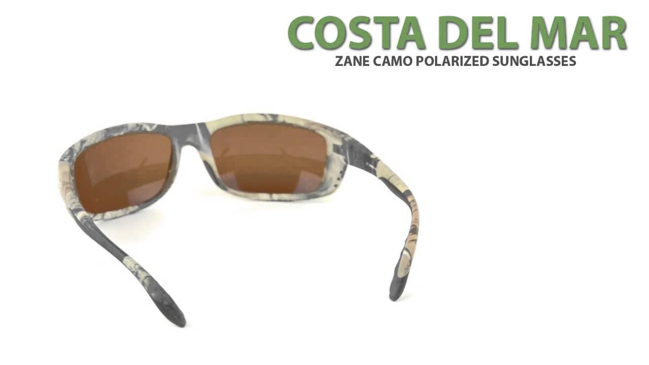 93d6401a7c Costa Zane Camo Sunglasses - Polarized 580G Glass Lenses - YouTube