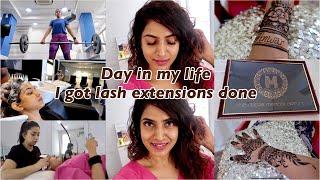 Day in My Life | I went to Best EyeLash Expert | Best Mehendi Artist In Town | Sameera Sherief