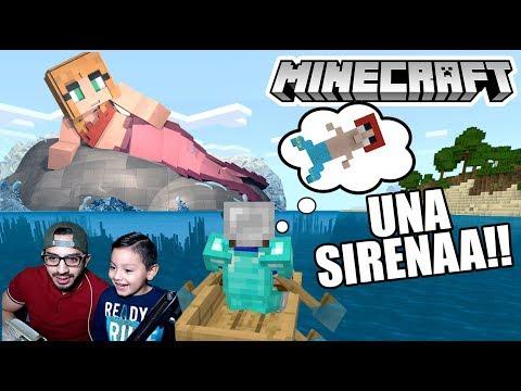 Una Sirena en Minecraft | Minecraft Build Battle #4 | Juegos Karim Juega
