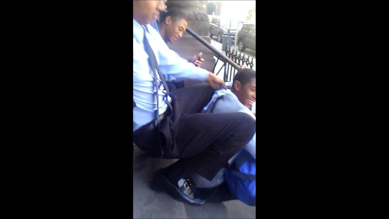 Bryan getting Tea Bagged - YouTube