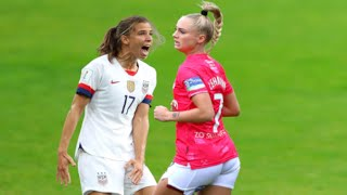 Fight Moments in Women's Football