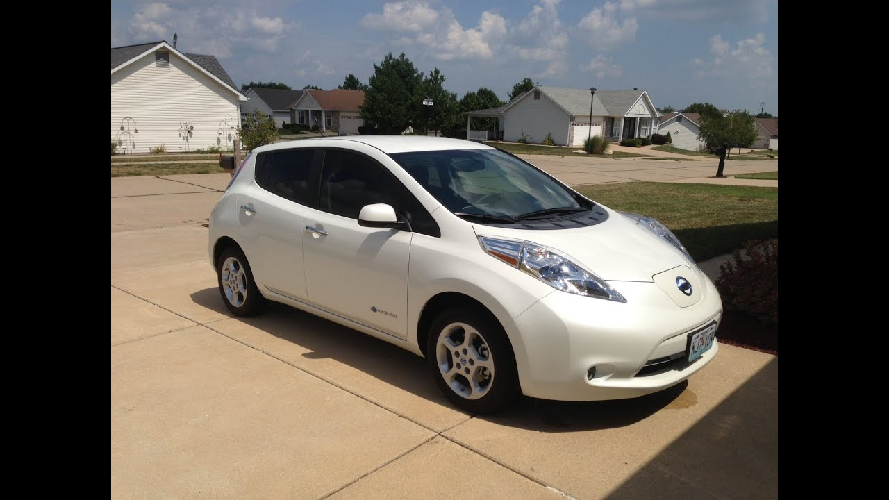 Owners Review 2013 Nissan Leaf SV - YouTube