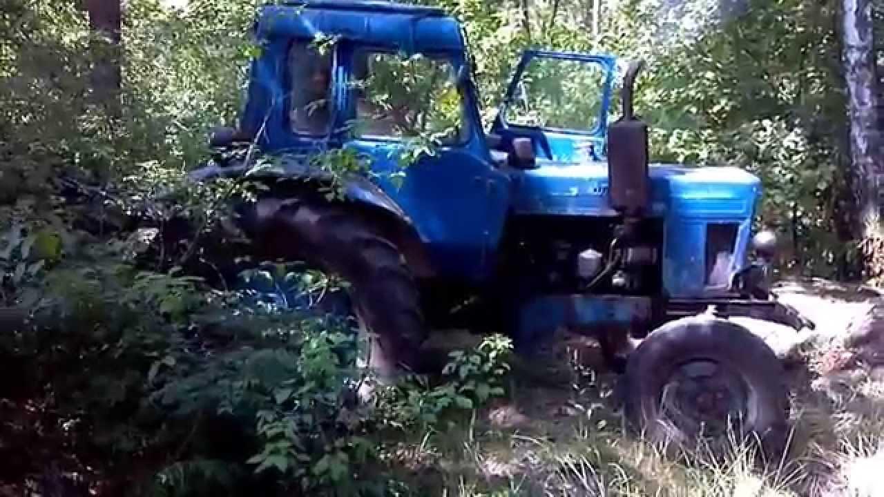 MTZ in forest Неудобы