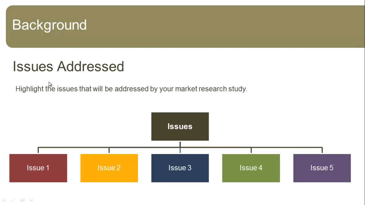 market research presentation template - youtube, Powerpoint templates