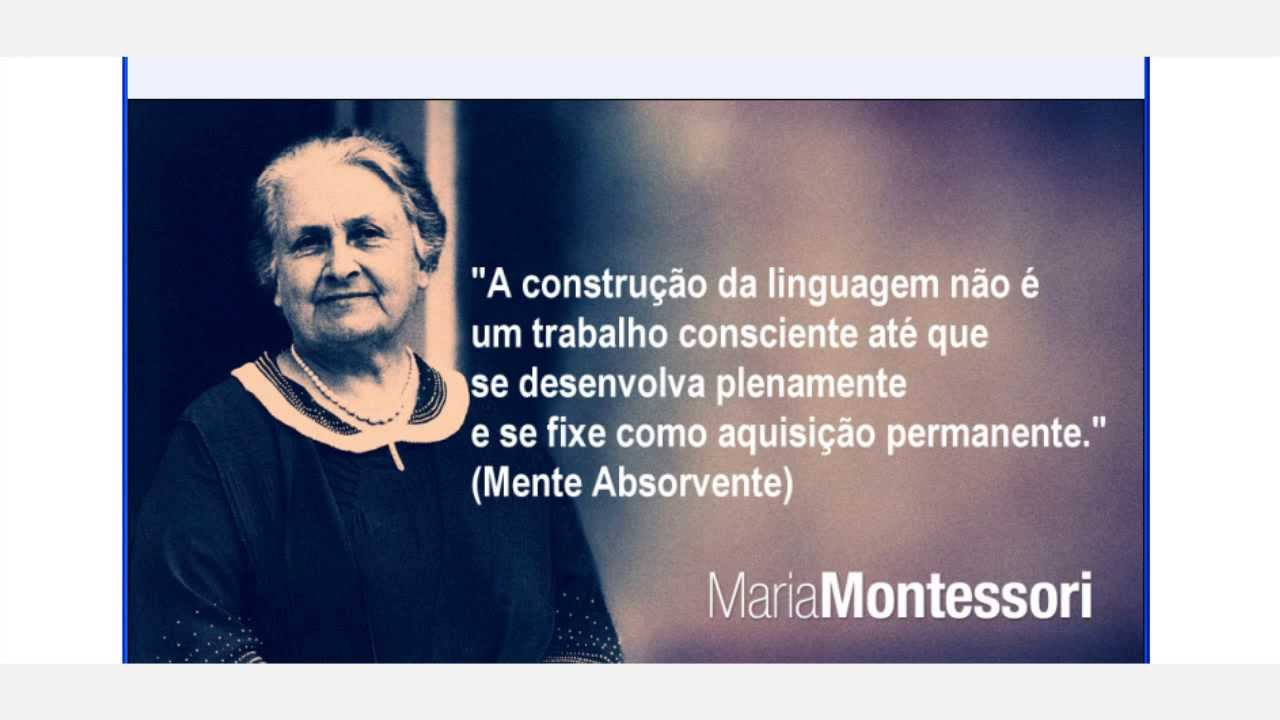 Discoveries of child made by dr maria montessori