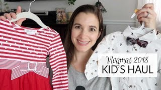 Vlogmas 2018 | Baby & Toddler Clothing Haul