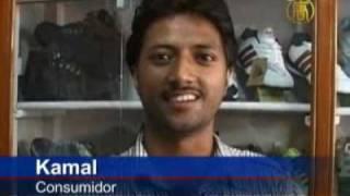 Los productos fabricados en China inundan el mercado indio
