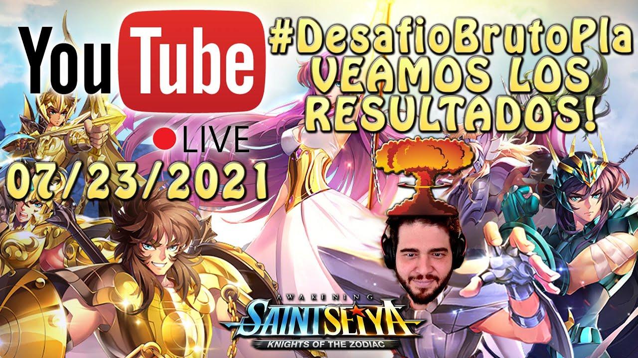 VEAMOS LOS RESULTADOS DEL #DesafioBrutoPla!! Saint Seiya Awakening