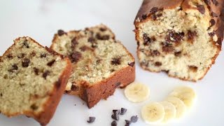 CAKE CHOCOLAT & BANANE | ENJOYCOOKING