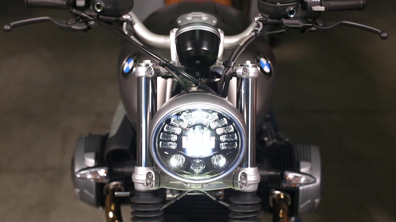 Bmw R Nine T >> BMW RnineT LED Headlight Upgrade Installation - YouTube
