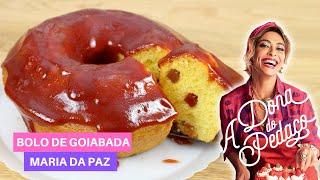 BOLO DE GOIABADA DA MARIA DA PAZ ( A DONA DO PEDAÇO)