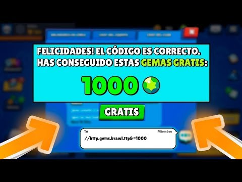 ¡¡SECRET CODE to GET 1000 FREE GEMS in BRAWL STARS!! ¿IT IS REAL? - [VT Shery]