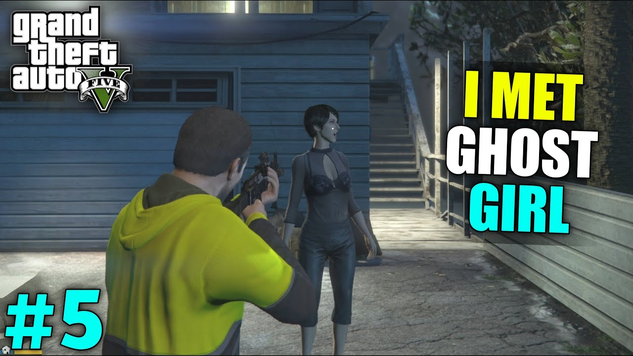 Download I SAVE GHOST GIRL FROM GANGSTERS | GTA V GAMEPLAY #5
