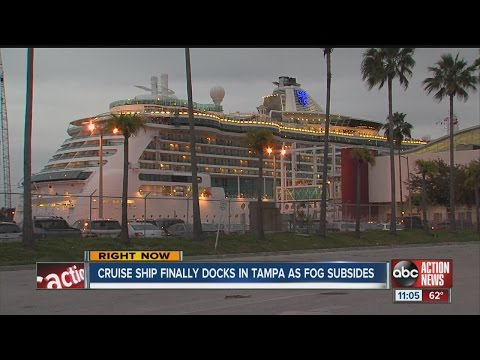 Brilliance of the Seas docks after 2-day delay