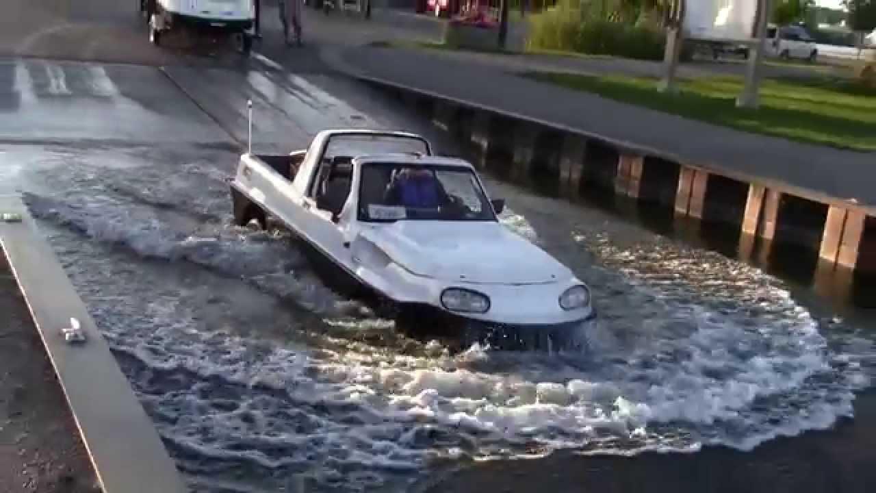 Dutton Surf Amphibious Car - YouTube