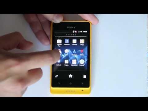 Sony Xperia go: Obsah balení, design a zpracování a test pod vodou (videopohled)