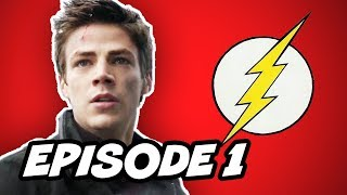 The Flash Episode 1 - TOP 10 Comic Book Easter Eggs(, 2014-10-08T03:59:08.000Z)