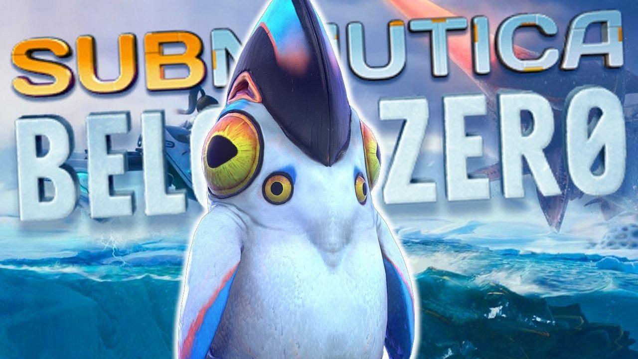 My New Alien Ice Palace Subnautica Below Zero Part 1 Youtube