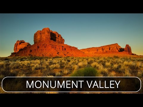 Monument Valley Cinematic - DJI Phantom 4 - United States