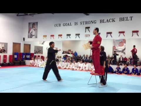 TaeKwonDo - Master Lee Breaking High Board