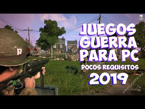 TOP 5 JUEGOS DE GUERRA PARA PC  (POCOS REQUISITOS) [BUENOS GRAFICOS] 2019