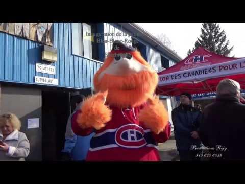 Inauguration de la patinoire Bleu-Blanc-Bouge de Sherbrooke