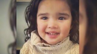 Promise of Snack Silences Little Girl's Tears