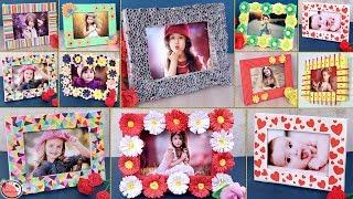 10 Creative DIY Photo Frame Idea !!! DIY School Projects Video