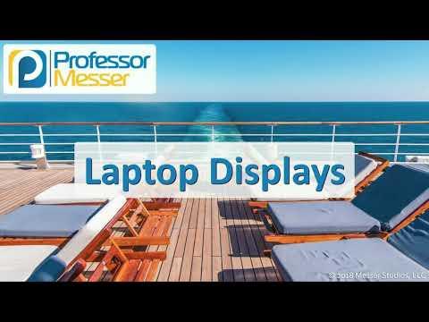 Laptop Displays - CompTIA A+ 220-1001 - 1.2